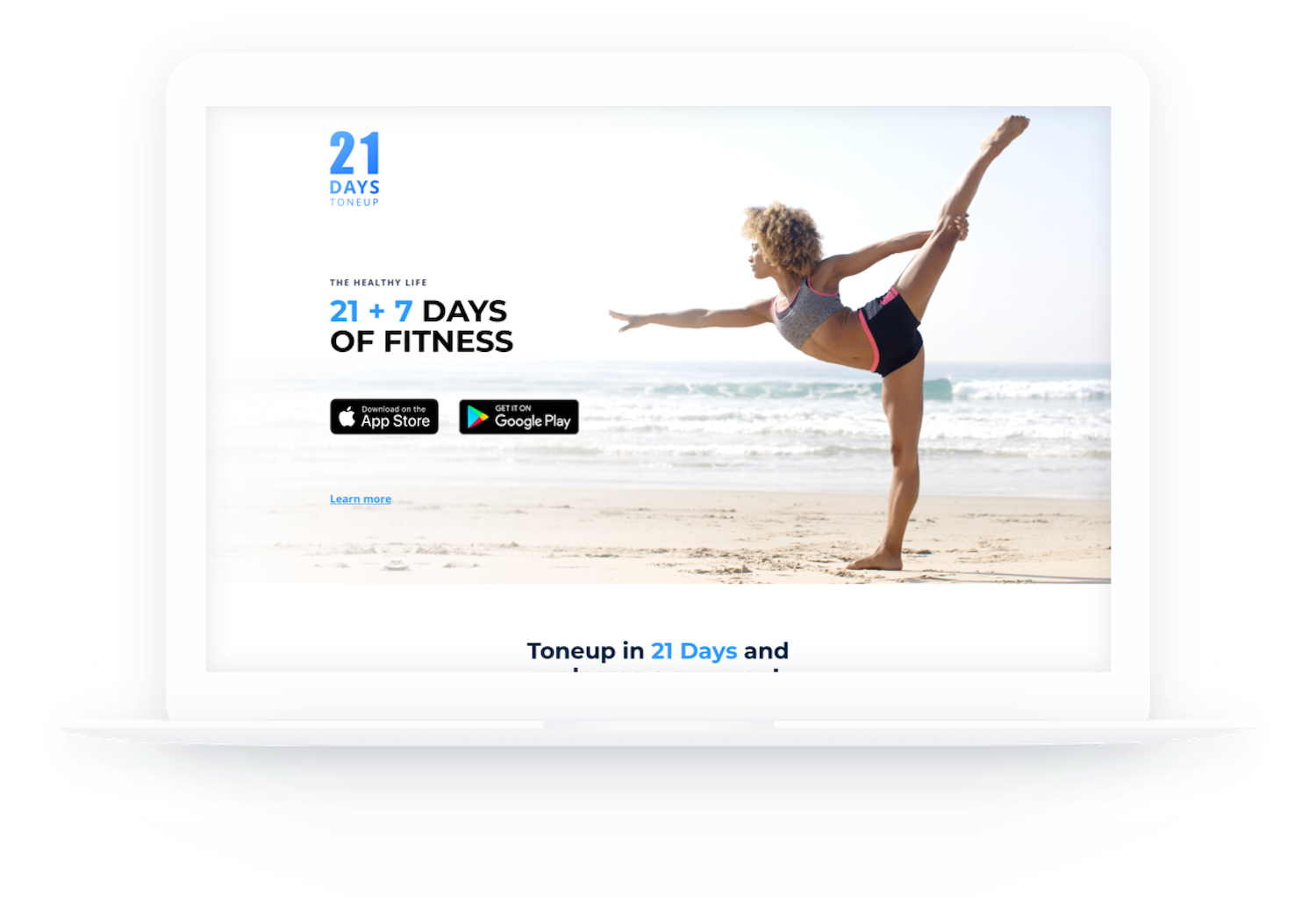 21 days android app